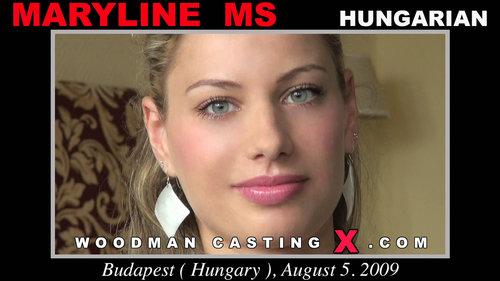 Woodman Casting X MARYLINE MS Casting HD